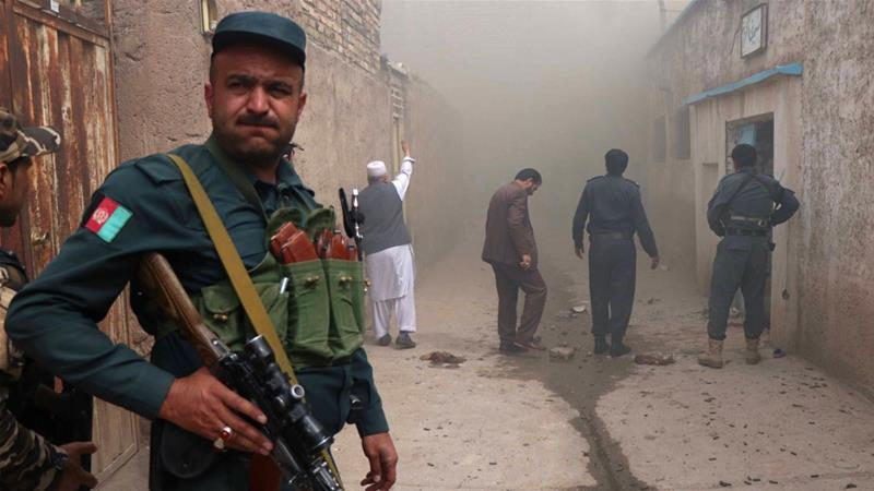 Afghanistan: At least 14 killed in auto bomb explosion at Lashkargah City