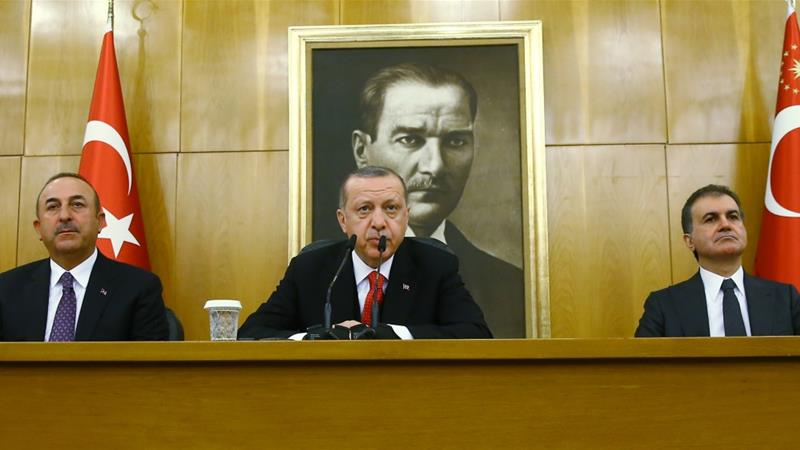 Turkey to target new town in Syria operation, Erdoğan says