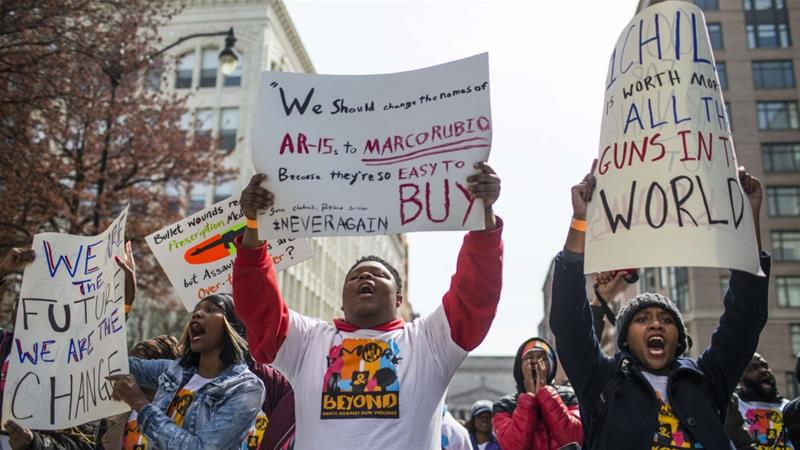 Local Students Join Nation in Rally Against Gun Violence