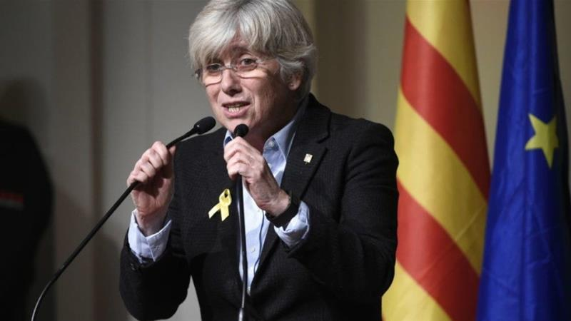 Former Catalan Education Minister Ponsati Going to Surrender to UK Authorities