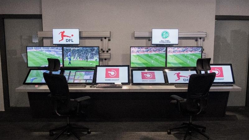 Video Assistant Referee technology (VAR) [Photo/DPA]