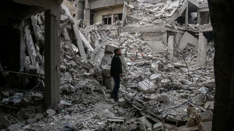Who is to blame for the ongoing war in Syria?