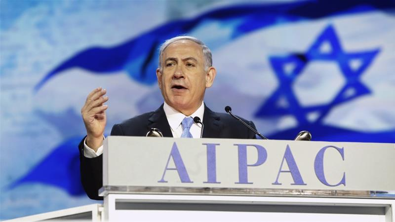 Israeli Prime Minister Benjamin Netanyahu, who has held talks at AIPAC at earlier editions, is scheduled speak at this year's conference again  [File: Jonathan Ernst/Reuters]