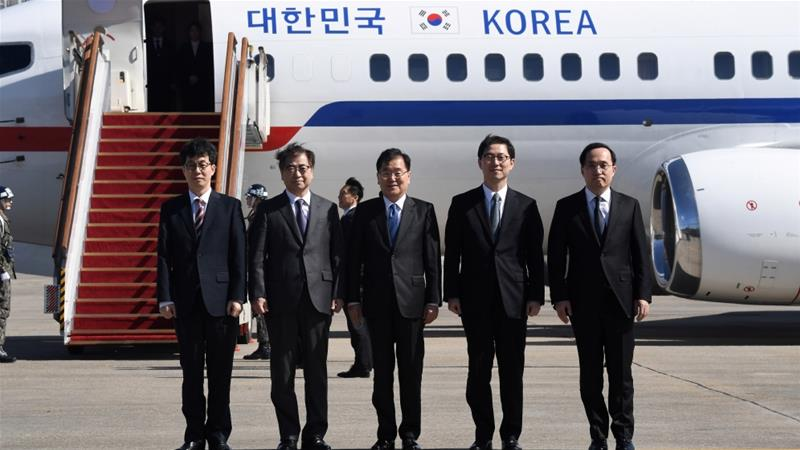 S Korea envoys to visit N Korea on Monday