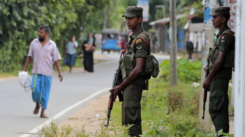 Sri Lanka imposes curfew in central city following violent clashes