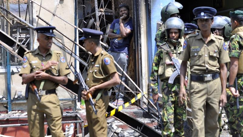 What is triggering communal violence in Sri Lanka?