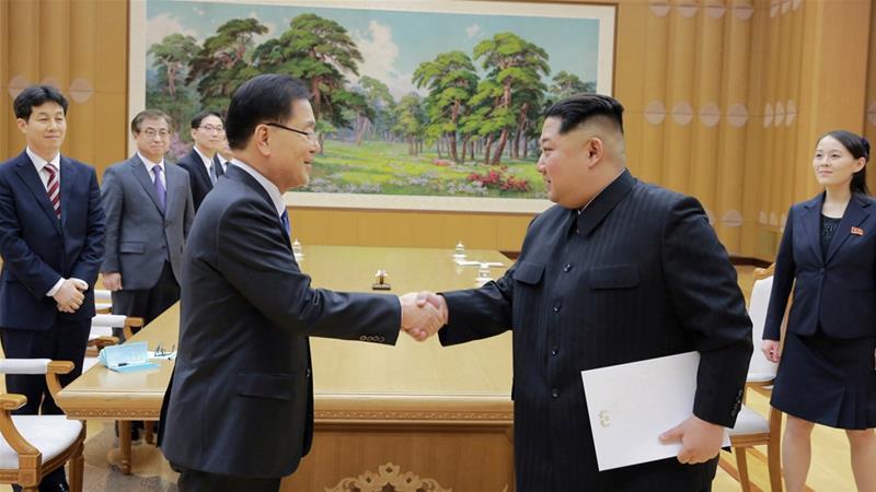 N and S Korean leaders agree to meet and halt nujes