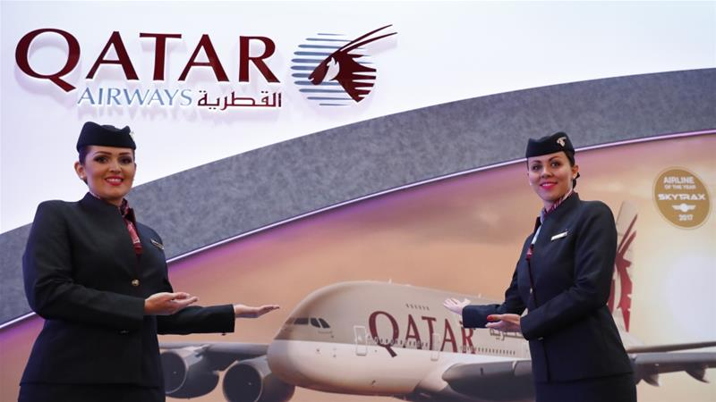 In the previous fiscal year, Qatar Airways announced $541m in profits [Fabrizio Bensch/Reuters]
