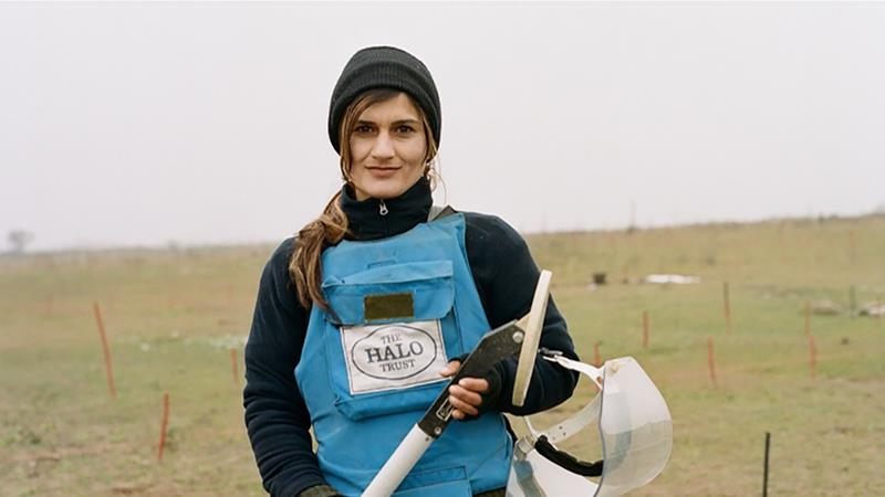 The female de-miners of Nagorno-Karabakh