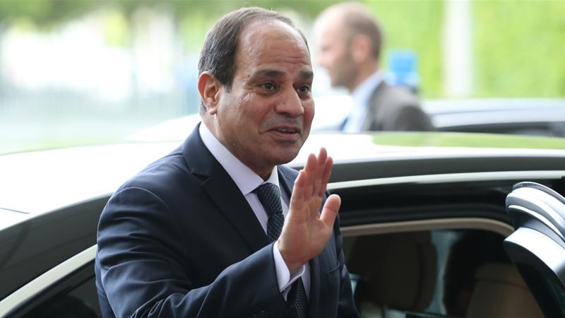 El-Sisi is set to win the upcoming vote after most serious contenders were arrested or forced to withdraw [Sean Gallup/Getty Images]