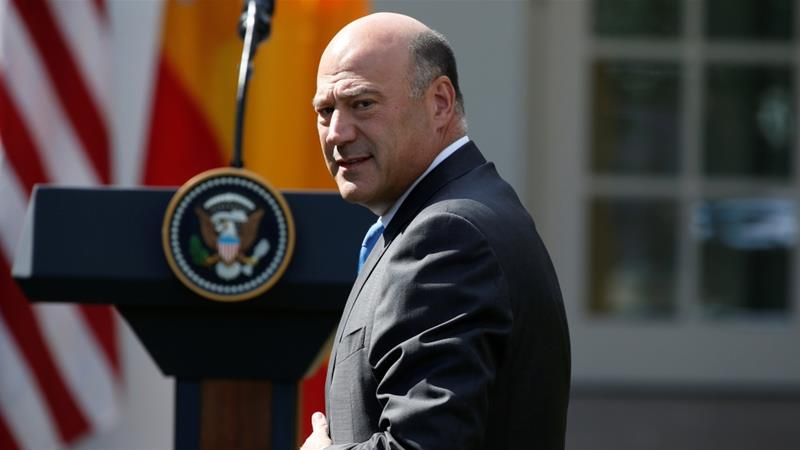Director of the National Economic Council Gary Cohn at the White House in Washington, US, September 26, 2017. [Photo/Joshua Roberts/Reuters]