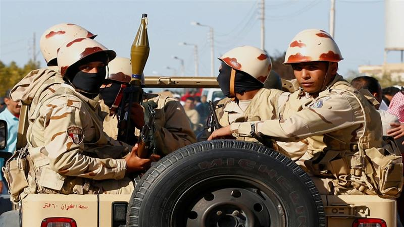 The Egyptian army is waging a campaign in the area against a group affiliated with ISIL [Mohamed Abd El Ghany/Reuters]