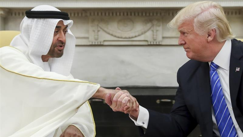 MBZ asks Trump 'to be last', after Qatar's emir