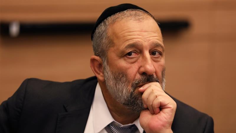 Israel's Interior Minister Aryeh Deri will now have the power to revoke residency of Palestinians in Jerusalem [Ammar Awad/Reuters]