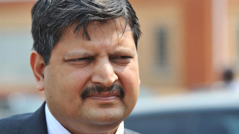 Indian tax authorities reportedly raided the properties of Atul Gupta and his brothers on Tuesday [File: AP]