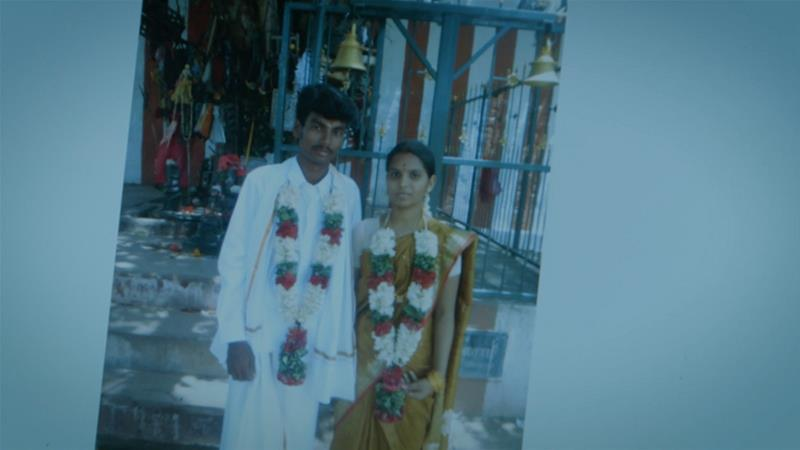 In 2016, a young Dalit man named Shankar was brutally hacked to death for marrying outside his caste in southern India. Now his wife Kausalya is fighting for justice [Screengrab/Al Jazeera]