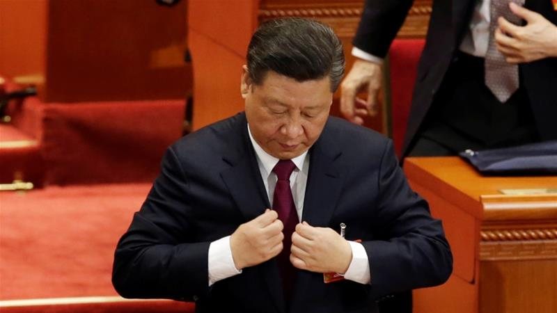 China abolishes presidential term limits, allowing Xi Jinping to rule indefinitely