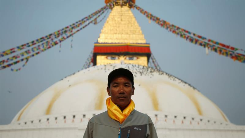 Sherpa to climb Mount Everest for a record 22nd time