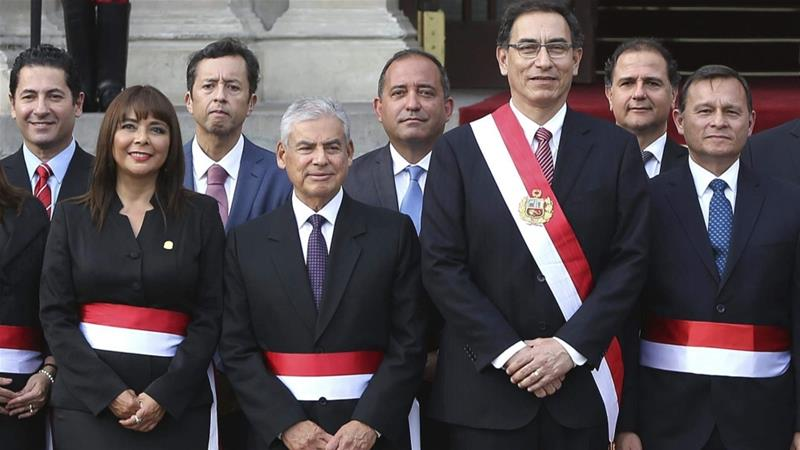 The summit begins less than a month after Peru's president assumed office following the previous leader's resignation [Martin Mejia/AP Photo]