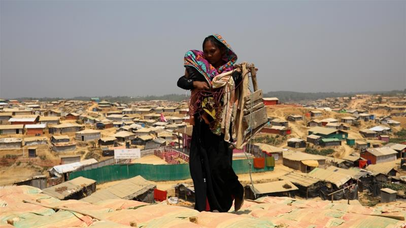 Nearly 700,000 Rohingya fled Myanmar to Bangladesh following a military crackdown last August [File: Reuters]