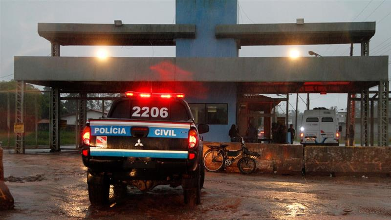 At least 20 dead after inmates attempt to prison escape in Brazil