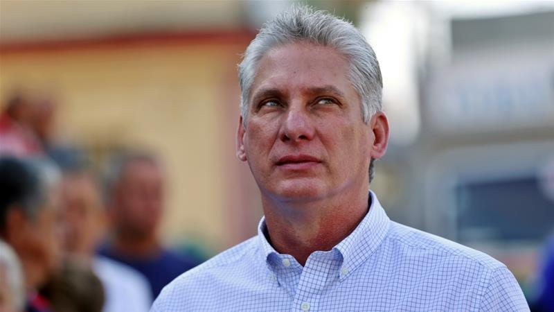 Miguel Diz-Canel,new president of Cuba
