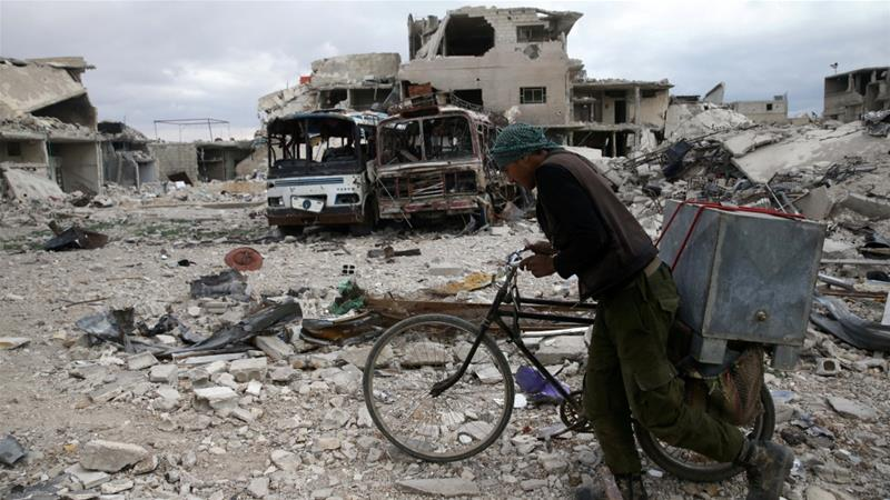 Syrians show symptoms of toxic weapons exposure