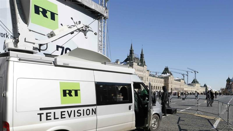 RT carried condemnation of the attack by President Vladimir Putin [Gleb Garanich/Reuters]