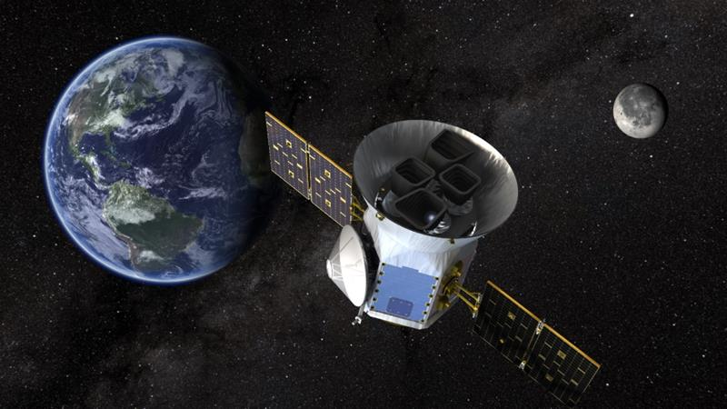 The TESS satellite, which will be placed in an orbit close to the moon, will continue work started by the Kepler telescope [Nasa]