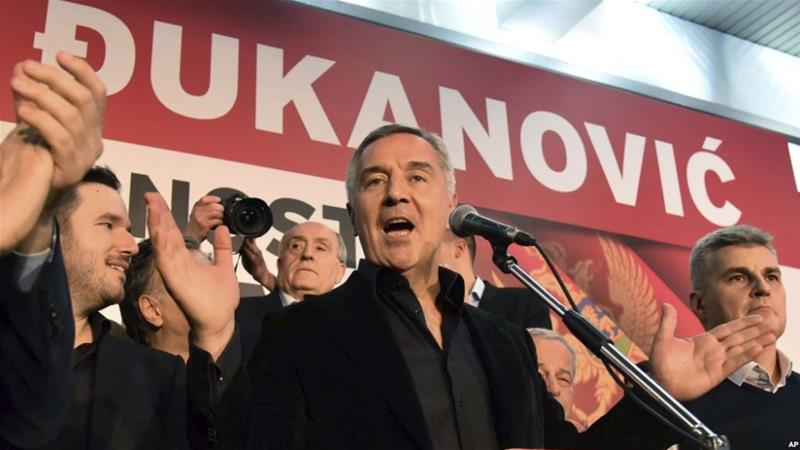 Djukanovic won 54 percent of the ballots [AP Photo]