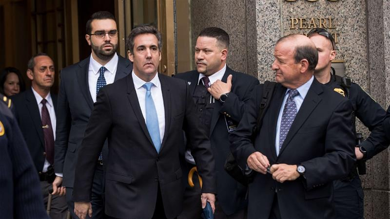 Michael Cohen had asked the court to give his lawyers first look at the seized materials [Drew Angerer/Getty Images/AFP]