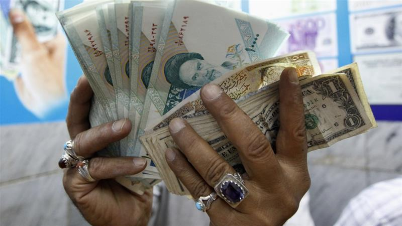 The Iranian Rial Has Lost Nearly Two Thirds Of Its Value To Us Dollar