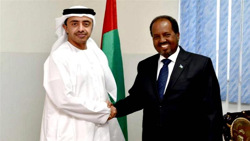 What's triggering tension between Somalia and the UAE?