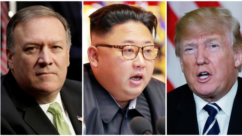 CIA chief Pompeo held secret meeting with Kim Jong-un