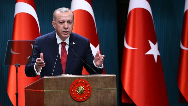 Why did Erdogan call snap elections in Turkey?