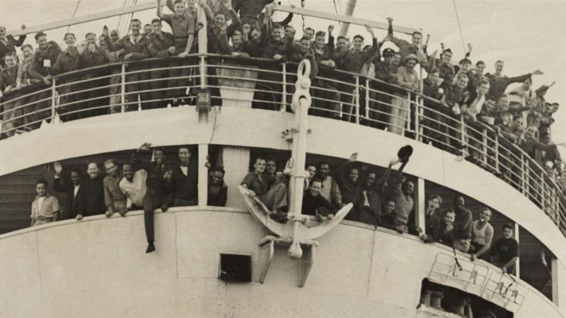 The Empire Windrush Arriving In Britain From Jamaica On  Daily Herald