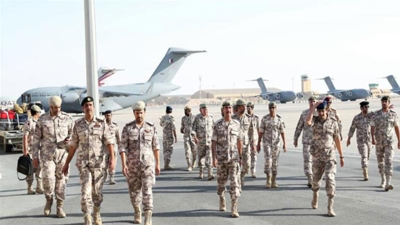 Qatari forces participate in Gulf war games, compromise seen among Arab states