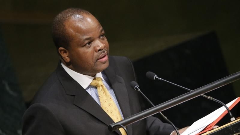 Mswati III became king in 1986, aged 18 [File: Carlo Allegri/Reuters]