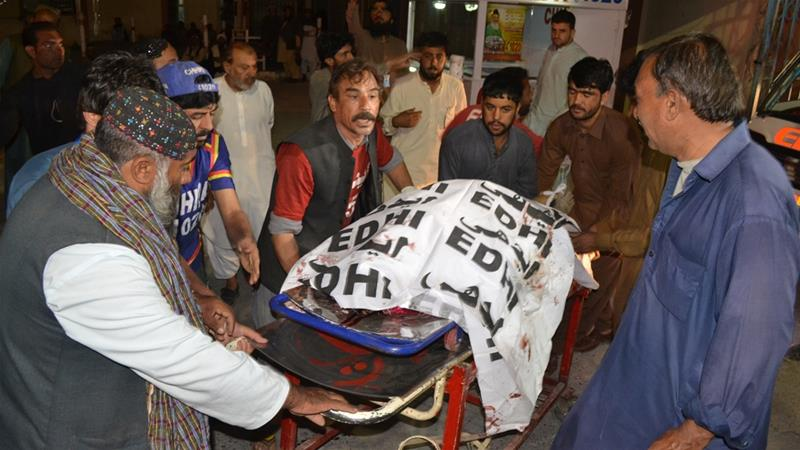 The shooting in Quetta was the latest to target Pakistan's Christian community [Arshad Butt/AP]