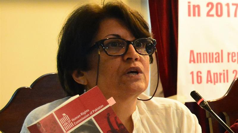 Maryam Hasan is the editor of HRCP's annual report on the state of human rights [B K Bangash/AP]