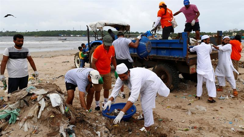 Filthy Mumbai beach rebreeds turtles, thanks to a city lawyer