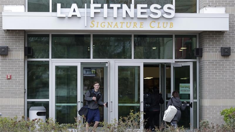 Employees of the LA Fitness wrongly accused a black member and his guest of not paying to work out [Julio Cortez/The Associated Press]