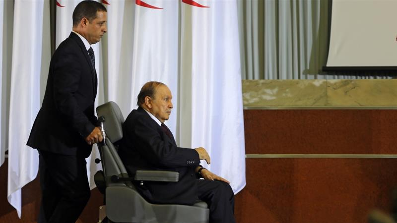 If Bouteflika wins next year's elections, he will be 87 at the time of the next elections [Mohamed Messara/EPA]