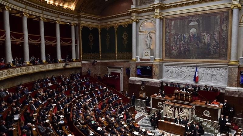 France''s National Assembly approves controversial immigration reform proposed by the government [Photo Christophe Archambault/AFP]