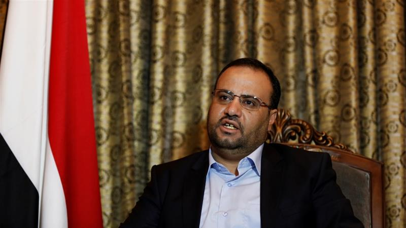 Saleh Saleh al-Sammad was heading the Houthi-led Supreme Political Council [File: Khaled Abdullah/Reuters]