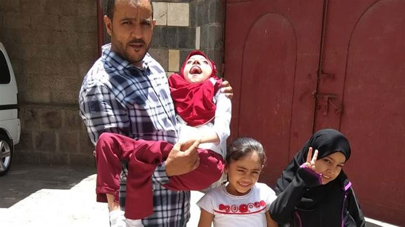 Yemeni family hopeless after disabled daughter denied visa to US