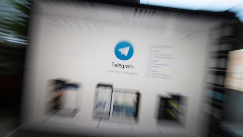 Russia's communication's censor started blocking popular messenger Telegram on April 16 [AP Photo/Alexander Zemlianichenko]