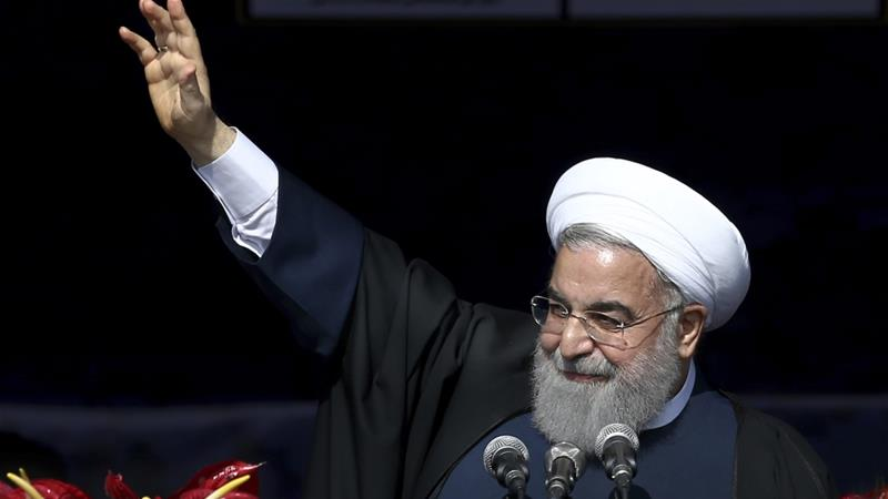 Iranian President Hassan Rouhani is facing declining support among Iranians [AP Photo/Ebrahim Noroozi]