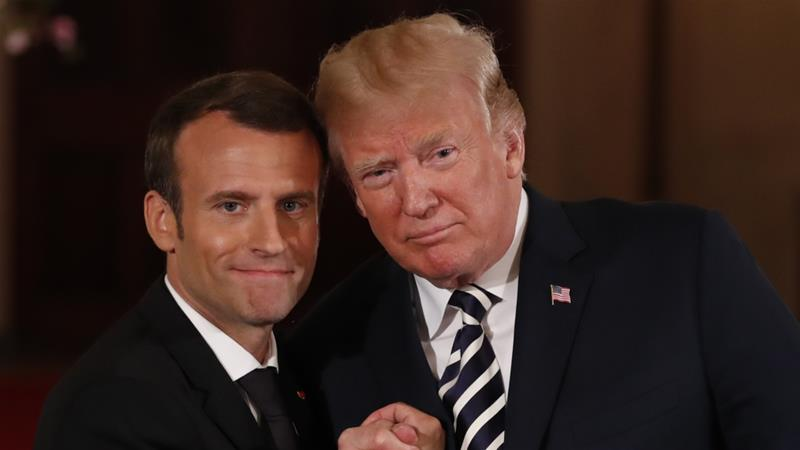 Despite coziness with Trump, Macron highlights differences between U.S. and France