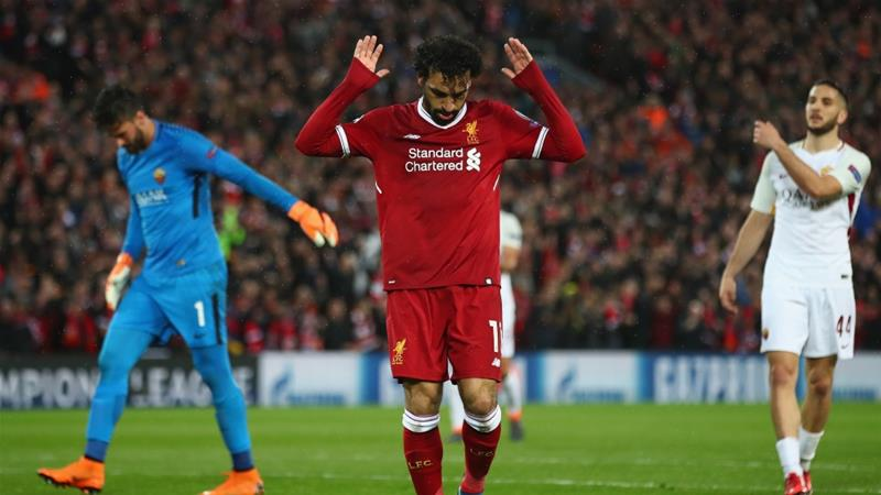 Salah refused to celebrate after scoring against his former club [Clive Brunskill/Getty Images]